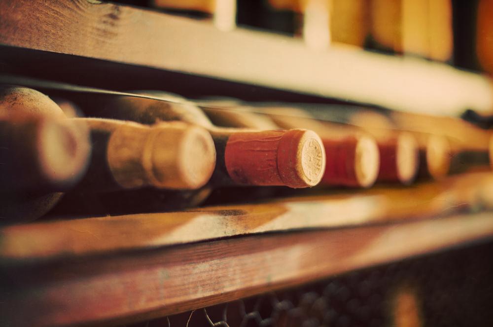 Wein Lagerung